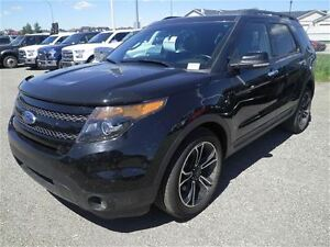 2013 Ford Explorer Sportecoboostsunroofcaptain Chairs