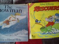 job lot of Children's favourites records for sale