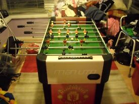 FOOTBALL TABLE - MANCHESTER UNITED