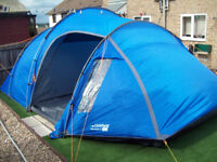 lichfield worcester 5 man person tent Brand New large living area easy to put up