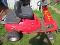 Countax Rider Ride Onn Lawnmower