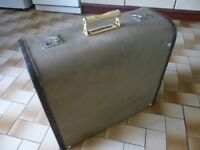 vintage accordian case,for a full size accordian,hard case,keeps accordian very safe,stanmore,middx.
