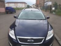 ESTATE DIESEL FORD MONDEO 2009 1.8 ECO 5DR FULL YEAR MOT EXCELLENT CONDITION.