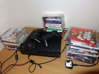 Playstation 3, 2 controlers and 28 games, great condition, oportunity