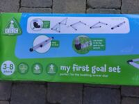 My first goal set - pair of goals from Early Learning Centre