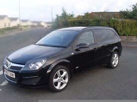 Vauxhall Astra 1.9 cdti sportive van