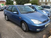 Ford Focus 1.8 ghia 2002 still insured! Mot March 2017,reliable,AA/rac welcome