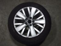 VW alloys with tyres
