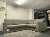 Grey DFS corner sofa delivery 🚚 sofa suite couch furniture