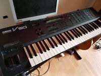 Yamaha V50 vintage FM synth