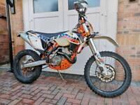 KTM excf 250 six days