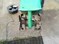 Electric garden tiller/weeder