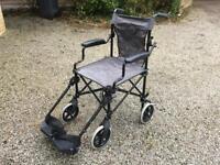 Wheelchair - Excel lightweight travel chair
