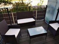 4 Seater Rattan Furniture Set