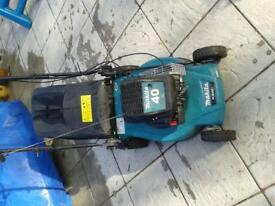 maktia lawnmower and strimmer