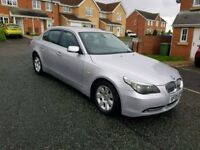 2005 bmw 530d 3.0 turbo diesel 280 bhp automatic (ex police ) faultless driver very fast
