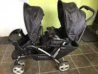 Tandem Baby Stroller