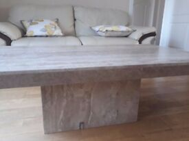 Limestone Coffee table