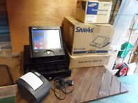 SAM4S SPS2000 Touchscreen cash register base and thermal printer
