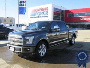 2016 Ford F-150 Platinum FX4 Super Crew 4x4 - 49,078 KMs, 3.5L