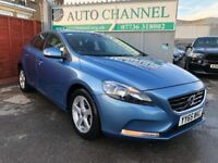 Volvo V40 2.0 T2 ES 5dr (start/stop)£10,995 p/x welcome 1 YEAR FREE WARRANTY. NEW MOT