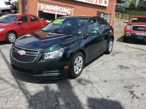2014 Chevrolet Cruze 1LT LT, Turbo, only 38000 kms