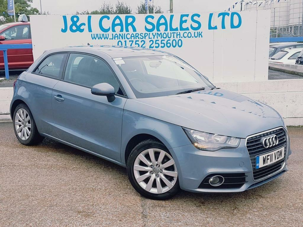 audi a1 1 4 tfsi sport 3d 122 bhp a great example inside a blue 2011 in plymouth devon. Black Bedroom Furniture Sets. Home Design Ideas