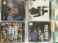 PLAYSTATION 3 perfect condition with 4 games