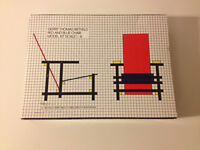 Rietveld RED & BLUE De Stijl Chair 1:6 scale model kit.