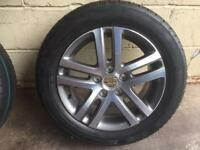 Golf mk6 alloy brand new with tyre