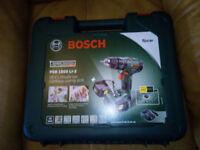 Drill bosch cordless brand new
