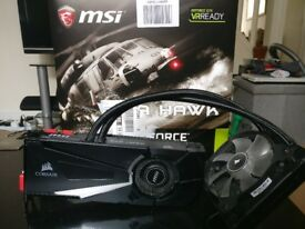MSI Seahawk Nvidia Geforce GTX 1070 graphics card 8GB GDDR5