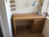Oak Furniture Land Bevel desk