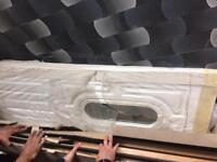brand new white UPVC door