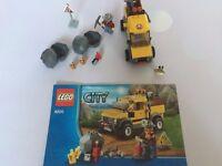 Lego City Mining 4x4 Vehicle