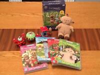 In the night garden DVD & toy bundle
