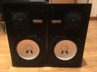 Yamaha NS-10M studio monitors matched pair