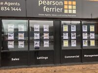 12 x row of 3 LED A4 Window Display - Estate Agent/Property perfect immaculate condition