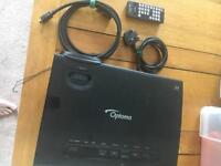 Optima DLP projector with remote & hdmi cable