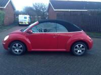 Vw beetle convertibles 1.4 2008