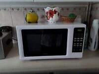 White kenwood 850-900 microwave