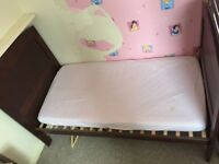 Cot bed from birth to toddler