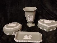 4 x Wedgwood Jasper Wear Collectable Collection of items - Highly collectable -