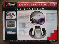 spacecam 120 is as good as new in its box with all it items BARGAIN £7