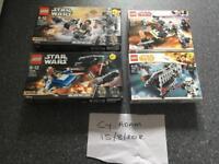 Assorted Lego starwars