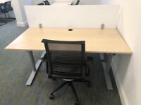 office furniture 1.6 meter height adjustable 1.6 meter desks
