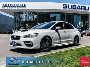 2016 Subaru WRX Sport Package 6SPD No Accident One Owner