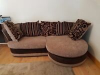 SOLD SOLD Scs 3 seater left/right L shape sofa bed