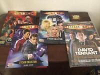 Doctor Who Merlin Sticker books - David Tennant