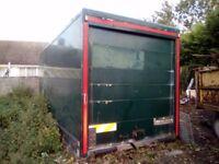 Lorry/body\back for storage